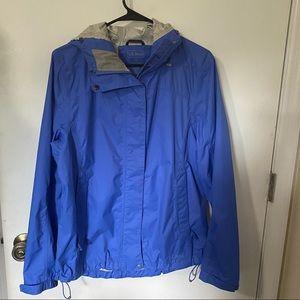COPY - L.L. Bean Blue Raincoat Size M